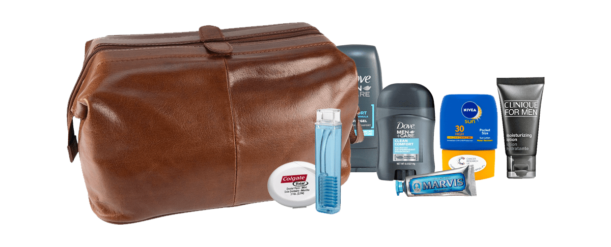 Travel guide toiletries essentials for men